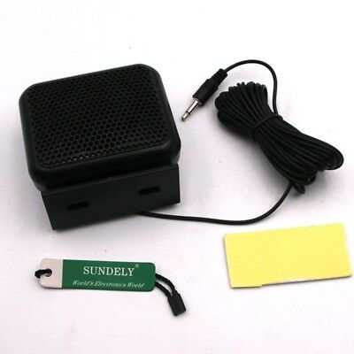 Mini External Portable Speaker For Uniden GME Icom Mobile Marine CB Radio 3.5mm