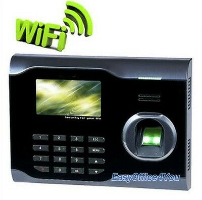 Biometric attendance system With Fingerprint WIFI Function+Free Software U160