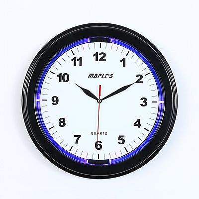Maple's Clock JS2328 13-in LED Plast-SKU 9696192
