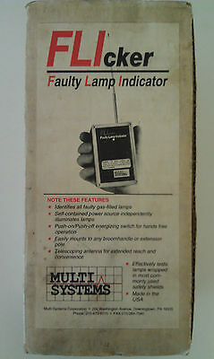 FLIcker Faulty Lamp Indicator by Multi-Systems Model LT-10001