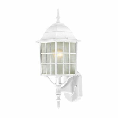 Nuvo Lighting 60-4901 Adams 1 Light 18-in Outdoor Wall Sconce w/Frosted Glass