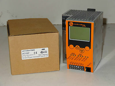 (NEW) IFM AC1337 AS-i ControllerE M4 2Master ET IP