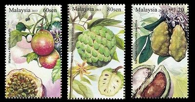 Rare Fruits IV Malaysia 2013 Nam Nam Passion Plant Food (stamp) MNH