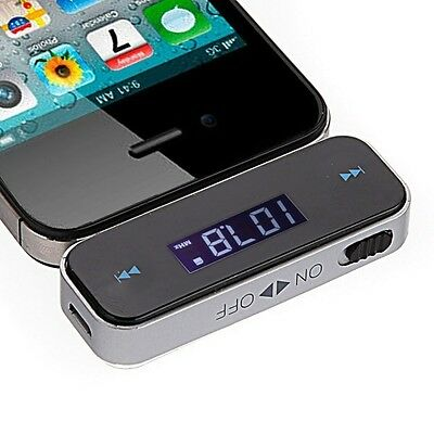 Car FM Radio Modulator Transmitter Wireless MP3 Player ITRIP For iPhone 5S 5C 6