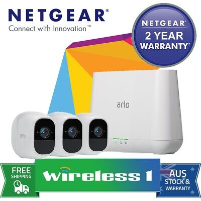 Brand New Netgear Arlo Pro 2 VMS4330P Wire-Free HD Camera 3 Security System
