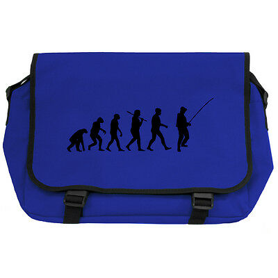 Evolution Of Fishing Lt Green Messenger Flight Bag Keen Angling Fishing Carp New Clothes, Shoes & Accessories Bags