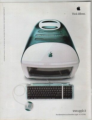 Adv/pubblicita' Apple – Think Different – 1998   Sc3