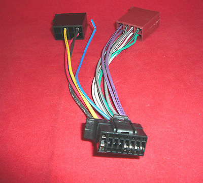 Sony Mex Bt U Iso Wiring Harness Lead Cable