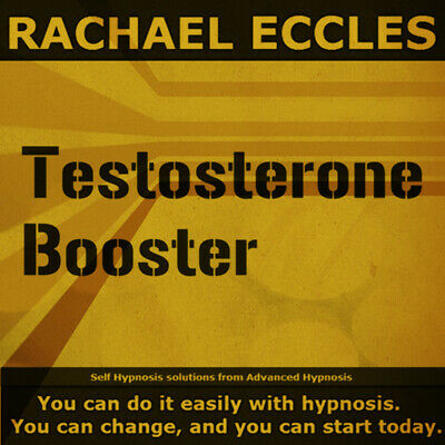 Self Hypnosis: Testosterone Booster Self Hypnosis CD, Rachael Eccles