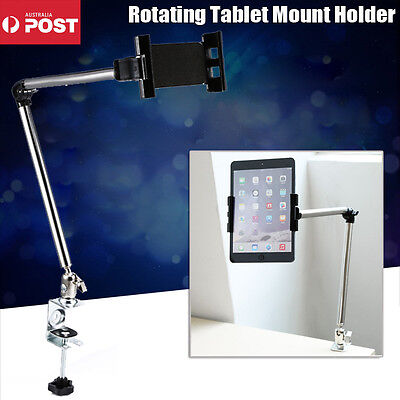 Rotating Bed Tablet Mount Holder Stand For Ipad Mini Iphone Samsung Galaxy Table