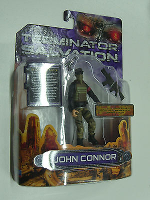 2009 Terminator Salvation John Connor Resistance Equalizer Figure Playmates Moc