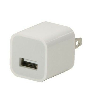 New OEM Authentic Apple iPhone 5W Wall Charger Adapter Cube 7 6S Plus 5 SE A1385