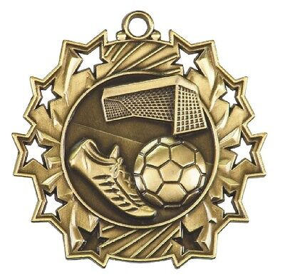 Football Medal Award Trophy With Free Lanyard MS704 School Team Sports
