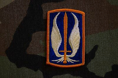 Authentic US Army 17th Aviation Brigade Dress Colored Sew On Military Patch