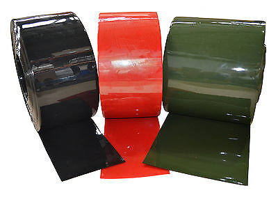 PVC Welding Curtain/Strip 200x2x25mtr Green/Bronze/Red