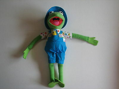 Jim Henson Muppets Spring Time Chick Kermit the Frog Plush Stuffed Doll 1993 17""
