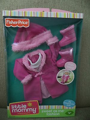 Little Mommy Sweet As Me Fashion Clothes - Cozy Baby Jacket & Boots 2008 *new*
