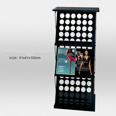 Linno® A3 PORTABLE FOLDING EXHIBITION BROCHURE DISPLAY STAND WITH TABLE SURFACE