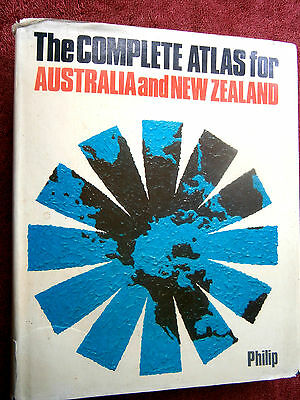 The  Complete  Atlas  For  Australian  And  New  Zealand    Philip