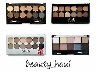 MUA Makeup Academy Eyeshadow Palette UNDRESSED UNDRESS ME TOO HEAVEN&EARTH &more