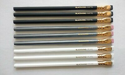 PALOMINO BLACKWING 9Pencils SET(Original, 602, Pearl 3each)