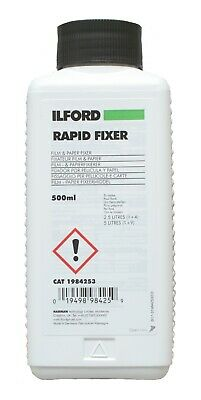 Ilford Rapid Fix Paper and  Film Fixer 500ml