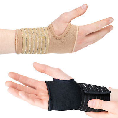 Actesso Wrist Support Sleeve Bandage Adjustable Hand Strap for Sprain RSI Sport