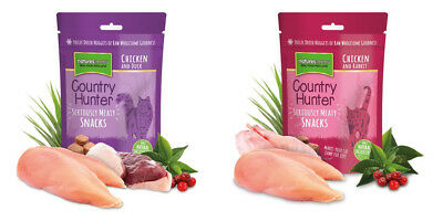Natures Menu Country Hunter Natural Cat Treats 40g Raw Meat freeze dried Nuggets
