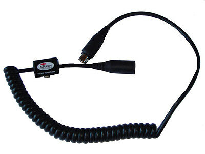 AUTOCOM COILED EXTENSION LEAD WITH 3.5MM SOCKET FOR MONITORS (Part No. 2130)