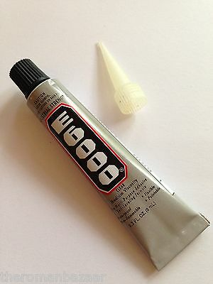 E6000 9ml Glue adhesive Industrial strength 0.3 FL OZ FREE TIP E-6000