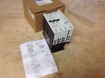80A 24-27VDC Coil NEW IN BOX Frame D Eaton XTCF080D00TD Contactor 4P
