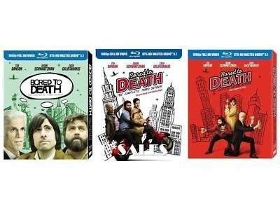 Bored to Death ~ Complete Series ~ Season 1-3 (1 2 & 3) BRAND NEW BLU-RAY SETS