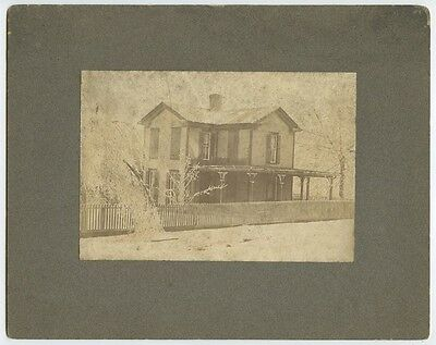 Antique Outdoor Photos Set Of 6-Scenes Of Beautiful Old Homes/automobiles/people
