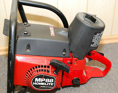 Homelite MP-88 Multi Purpose Chainsaw / Concrete Saw