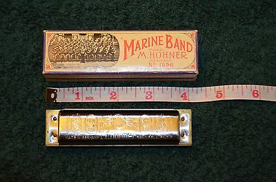 Marine Band 1896 M. Hohner Harmonica  Key Of(G) Made In Germany