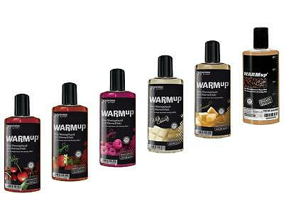 7,66EUR/100ml WARMup wärmend Erotik Massageöl 150ml essbar Massage Wellness