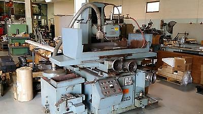 USED Nicco NSG -64H 24x16 Reciprocating Surface Grinder w Magnetic Chuck Dresser