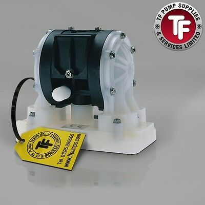 "1/4"" Graco Husky 205 / AT06/VA06 Air Diaphragm Pump (PVDF/Kynar/PTFE) - D150A1"