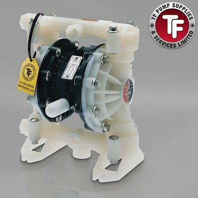 "1/2"" Graco Husky 515 / AT15/VA15 Air Diaphragm Pump (PVDF/Kynar/PTFE) - D5EA11"