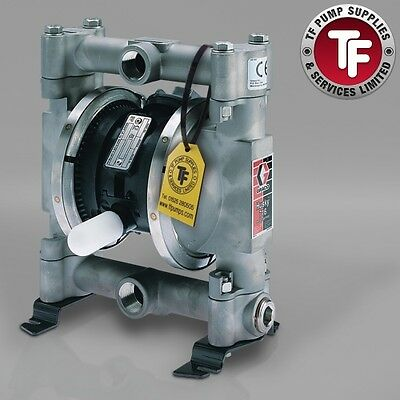 "3/4"" Graco Husky 716 / AT20/VA20 Air Diaphragm Pump ATEX (316 SS/PTFE)- D5D311"