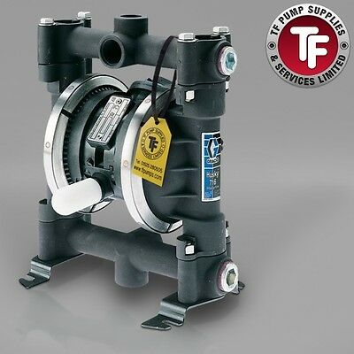 "3/4"" Graco Husky 716 / AT20/VA20 Air Diaphragm Pump ATEX (Ali/PTFE) - D5C311"