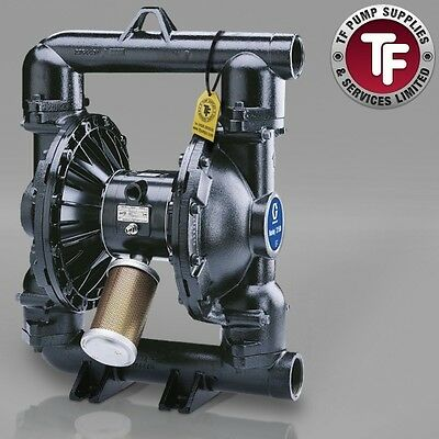 "2"" Graco Husky 2150 / AT50/VA50 Air Diaphragm Pump ATEX (C.I/Geolast) - DFFGGG"