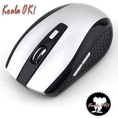 2.4GHz Button Cordless Optical Mouse Mice with USB Receiver For PC Laptop OK!