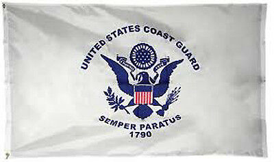 Annin 3' x 5' Foot United States Coast Guard Flag