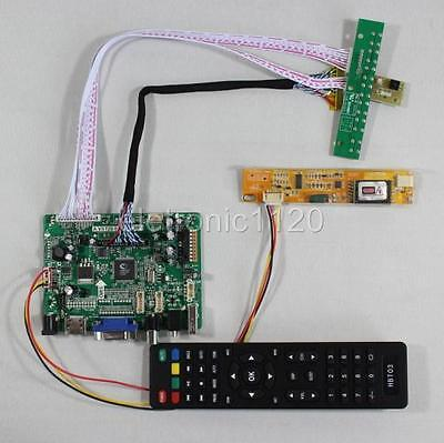 USB HDMI VGA AV Audio lcd driver board work for 1680x1050 1CCFL 30pins LCD panel
