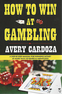 BOOK - HOW TO WIN AT GAMBLING - AVERY CARDOZA - POKER - NO-LIMIT HOLD'EM