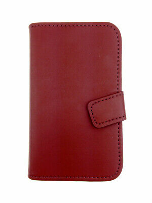 BLACK WALLET Plain Case withCard Slots for Samsung Galaxy Ace GT-S5830/GT-S5830i