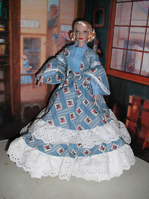 """1860 Ball Gown for Scarlett 16""""by Tiny Tailor"""