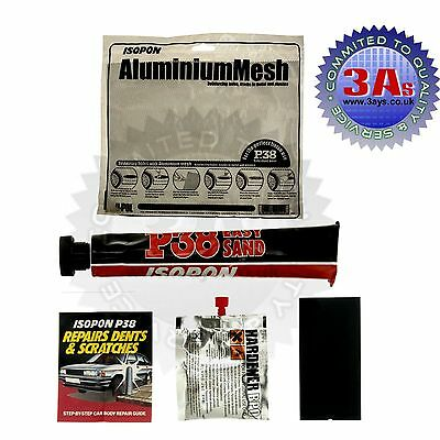 Aluminium Mesh, Car Body Filler, Hardener Kit (Car Body Filler Repair Kit) 100Ml
