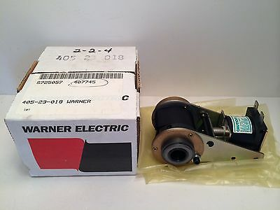 New! Warner Electric Clutch W/ Solenoid 405-23-018 40523018